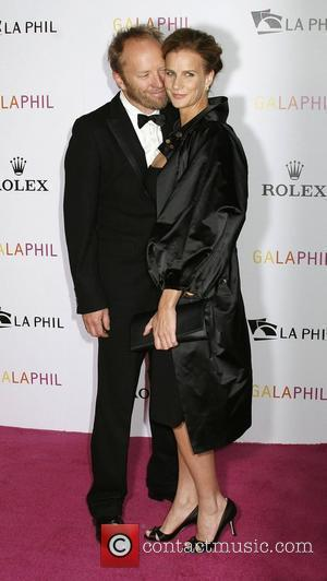 Rachel Griffiths and Walt Disney