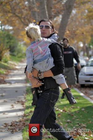Gavin Rossdale and Son Kingston