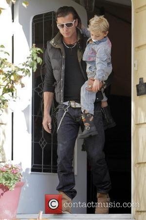 Gavin Rossdale and Kingston