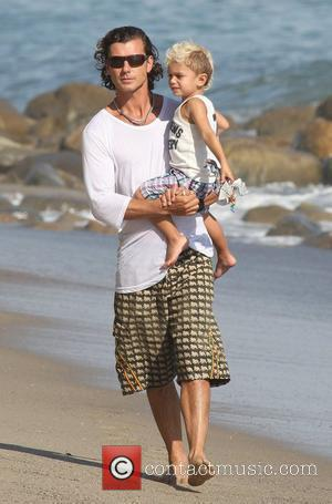 Gavin Rossdale and his son Kingston