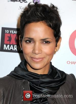 Actress Halle Berry and Halle Berry