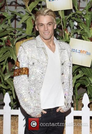 Aaron Carter Camp Ronald McDonald for Good Times 17th Annual Halloween Carnival held at Universal Studios Backlot Los Angeles, California...