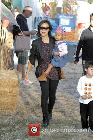 David Alan Grier and his family visit Mr Bones Pumpkin Patch in West Hollywood. Los Angeles, California - 10.10.09