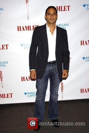 Daniel Sunjata attending The new Broadway production of 'Hamlet' held at the Broadhurst Theatre - Arrivals New York City, USA...