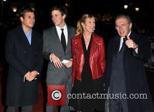 Sir David Frost and guests  The UK premiere of 'Harry Brown' held at the Odeon Leicester Square.  London,...