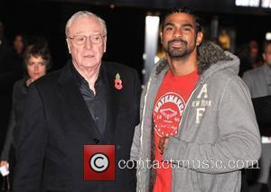 Michael Caine and David Haye