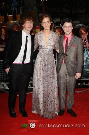 Rupert Grint, Emma Watson, Harry Potter and Empire Leicester Square