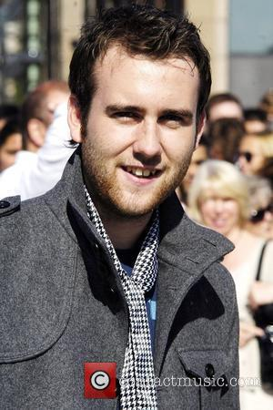 Matthew Lewis Balloon launch at the Millennium Bridge to mark the December DVD release of 'Harry Potter and the Half-Blood...
