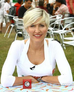 Heather Mills at the opening of her new eaterie V-Bites Hove, England - 04.07.09