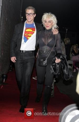 Derek Hough and guest Heidi Klum and her husband Seal host a Halloween Party at Voyeur nightclub in West Hollywood...
