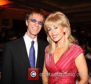 Robin Gibb and Sally Farmiloe