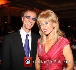Robin Gibb and Sally Farmiloe The Heritage Foundation Annual Awards and Summer Ball - Inside London, England - 20.06.09