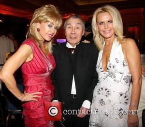 Sally Farmiloe, Burt Kwouk and Tricia Walsh-smith