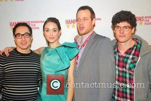 David Brind, Emmy Rossum and Zach Gilford