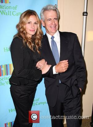 Julia Roberts and Guest at a Celebration of Paul Newman's Hole in the Wall Camps in Avery Fisher Hall at...