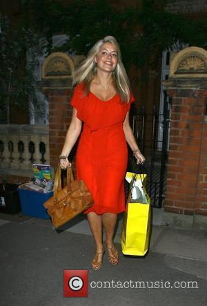 Holly Willoughby leaving her house to make her way to the London Studios where she will present her first show...