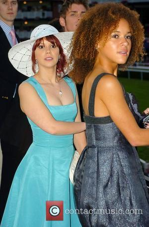 Hollyoaks actors Jessica Fox who plays Nancy Hayton and Dominique Jackson who plays Lauren Valentine  pay a visit to...