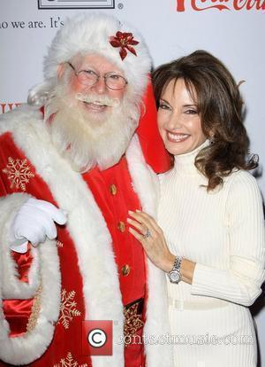 Susan Lucci and Santa Claus