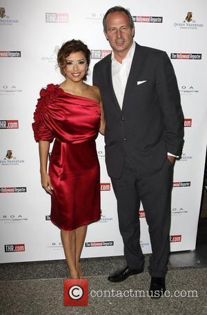 Eva Longoria and Publisher Eric Mika