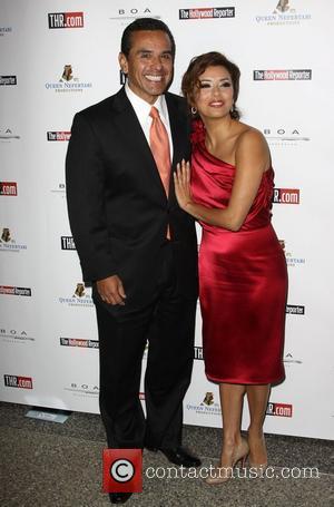 Mayor Antonio Villaraigosa and Eva Longoria