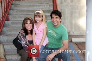 Kate Linder, Samantha Bailey and Thom Bierdz