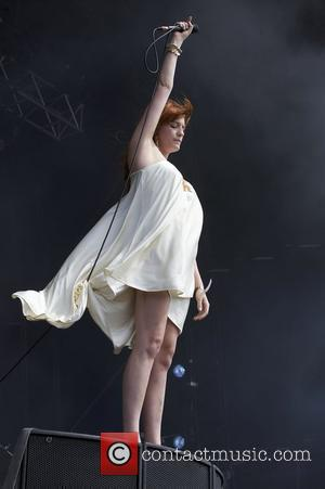 Florence Welch of Florence and the Machine The Hop Farm Festival held at Paddock Wood - Day 1  Kent,...