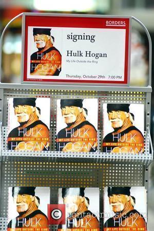 Hulk Hogan signing of his book 'My Life Outside The Ring' Los Angeles, California - 29.10.09