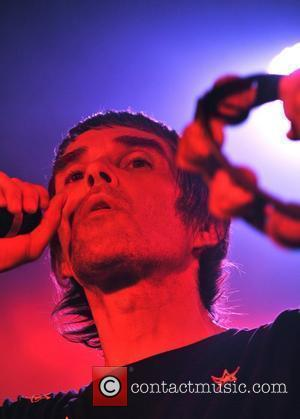 Ian Brown launches his new album 'My Way' with a free gig held at the Relentless Garage. London, England -...
