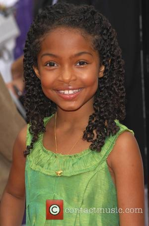 Yara Shahidi Los Angeles Premiere of 'Imagine That' held at the Paramount Theatre - arrivals Hollywood, California, USA - 06.06.09