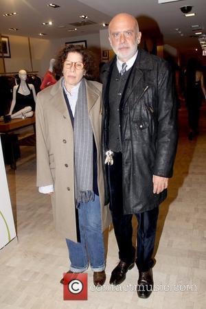 Fran Lebowitz and Francesco Clemente