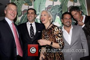 Richard Johnson, Jim Gold, Bergdorf Goodman, President & CEO, Linda Fargo, Narciso Rodriguez and Jean-Marc Houmard private party for 'Indochine:...