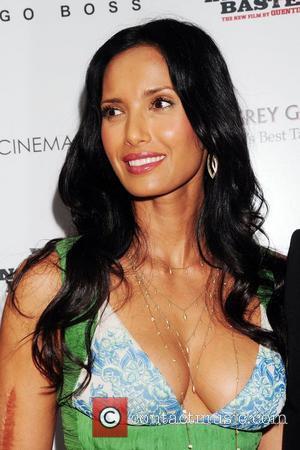 Padma Lakshmi The Cinema Society & Hugo Boss screening of 'Inglourious Basterds' at SVA Theater New York City, USA -...