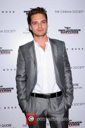 Sebastian Stan The Cinema Society & Hugo Boss screening of 'Inglourious Basterds' at SVA Theater New York City, USA -...