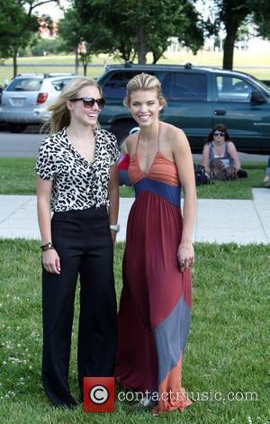 Kristen Bell and AnnaLynne McCord