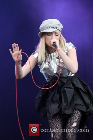 Katie White of The Ting Tings Isle of Wight Festival - Performance - Day 1 Isle of Wight, England -...