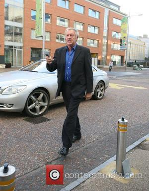 Chris Tarrant outside the ITV studios London, England - 26.11.09