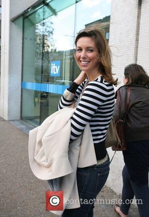 Emma Crosby outside the ITV studios London, England - 26.11.09