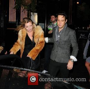 Kate Moss and Jamie Hince Leaving J Sheekey Restaurant