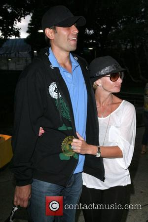 Jaime Pressly and her new husband Simran Singh