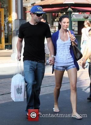 Brody Jenner and Jayde Nicole go shopping at the Aple store in Hollywood Los Angeles, California - 24.08.09