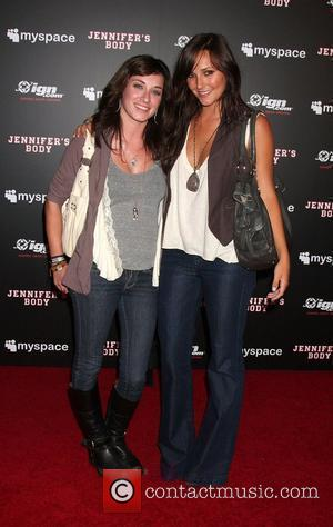 Margo Harshman and Briana Evigan