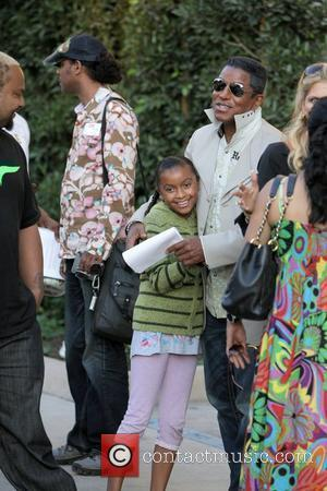Jermaine Jackson and Halima Rashid visit a luxury condo open house at The Carlyle in Westwood.  Los Angeles, California...
