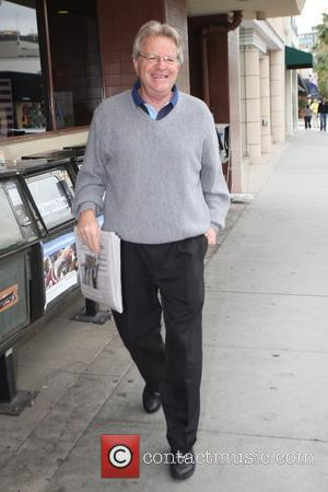 Jerry Springer arriving at a medical centre in Beverly Hills Los Angeles, California - 08.10.09