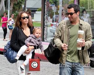 Jessica Alba, Cash Warren, Their Daughter and Honor Marie Warren