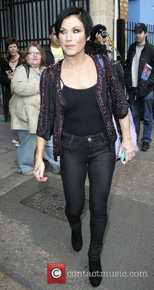 Jessie Wallace outside GMTV studios London, England - 29.10.09