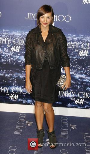 Rashida Jones arriving at the Jimmy Choo for H&M Launch Party held at a private residence West Hollywood, California -...