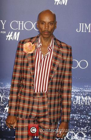 RuPaul arriving at the Jimmy Choo for H&M Launch Party held at a private residence West Hollywood, California - 02.11.09