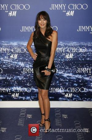 Tamara Mellon arriving at the Jimmy Choo for H&M Launch Party held at a private residence West Hollywood, California -...