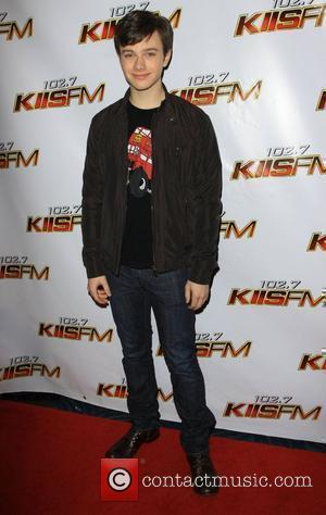 Chris Colfer KISS FM's Jingle Ball 2009 at the Nokia LA Live Theatre - Arrivals and Inside Los Angeles, California...