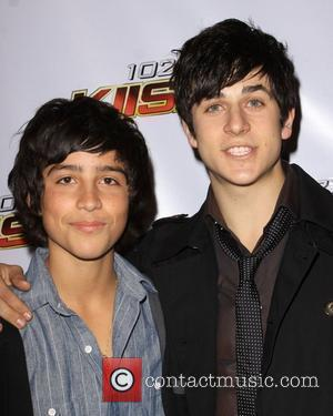 David Henrie and brother Lorenzo Henrie KISS FM's Jingle Ball 2009 at the Nokia LA Live Theatre - Arrivals and...